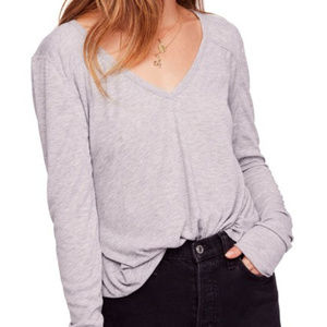 Free People | Rock The Boat Long Sleeve Tee | L